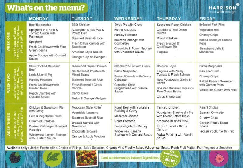 Oct21 menu